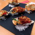 60121045 - 播州赤穂産牡蠣の香草オーブン焼き