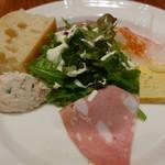 トラットリア ディペッシェ パッパーレ イタリア - 前菜盛り合わせ