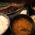 おいしい料理とお酒 ぼちぼち - 焼魚定食