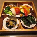 泥武士 - お野菜ご膳