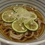 れんげ草 - すだち蕎麦