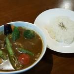 カワラヤ - 季節の野菜カレー 1030円