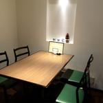 そば処 庄司屋 - 1階の個室