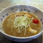 名前のないラーメン屋 - らーめん(濃厚スープ)並