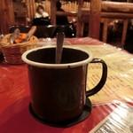 カウボーイ - 食後のホットコーヒー