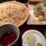 蕎麦 あざみ - 天ぷらセットの大盛りです。