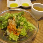 ル バー ラ ヴァン サンカンドゥ アザブ トウキョウ - サラダ&スープ