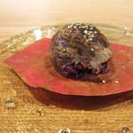 60129591 - ばあく豚 奈良県産ひのひかり 古代米 白味噌 手毬寿司(2016.11月)