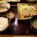旬菜 麦や七蔵 - ランチ