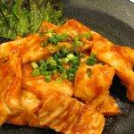 天龍 - ピリ辛モツ焼:当店完全オリジナル商品です