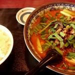 嘉興飯店 - 四川元祖担々麺セット