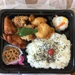 ふなちゅう 歩 - 唐揚げミックス弁当