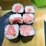 天下寿司 - ネタがまばらなトロ鉄火