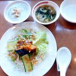 中華旬菜 福竜 - サラダ