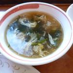 中華旬菜 福竜 - スープ