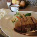 洋食 さかぐち - 1日10食限定ビフカツランチ