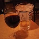 バルヒスパニア - 赤ワインとメガビームハイボール