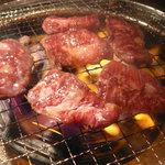ときわ亭 - 和牛上ハラミ(1,029円) ※焼き状態