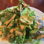 ブルック マークス - ランチセットのサラダ