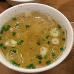 担々麺 ほおずき - スープ