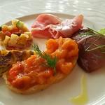 レオーネ・マルチアーノ - 前菜盛り合わせ