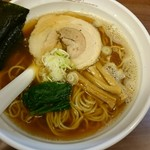 らーめんNageyari - 鯖節そば醤油、細麺