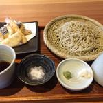 蕎麦と酒おもたか - 蕎麦と天ぷら
