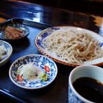 蕎麦物語 遊山 - 料理写真:ざる蕎麦(\860税込み)