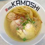 鶏 ソバ カモシ - 鶏soba潮のアップ