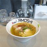 鶏 ソバ カモシ - 鶏soba潮(750円)