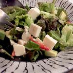 60148799 - アボカドと豆腐のサラダ750円