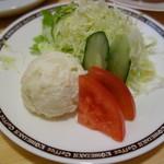 コメダ珈琲 - ミニサラダ(\200)