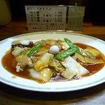 吉伝 - あんかけやきそば(ゆで麺)