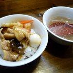 吉伝 - オンザライスとスープ
