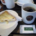 タリーズコーヒー - モーニングセット(ジャーマンポテト・本日のコーヒートール) 480円