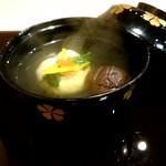 蕎麦割烹  倉田 - 椀『毛蟹の茶巾』