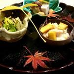 蕎麦割烹  倉田 - 前菜
