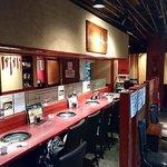 にしき亭 - にしき亭 @西葛西 沢山の個室とカウンター席が用意される店内