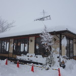つぼの華 - 今年一番の降雪