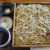石臼自家挽き蕎麦 みなもと - 料理写真:<2016年12月>二八蕎麦 倍もり 1,100円