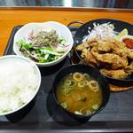 ケルミス - 料理写真:鶏の唐揚げジンジャーソース(1000円)_2016-12-02