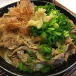 うどん 丸香 - 肉うどん@680円
