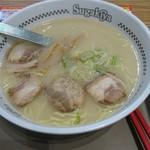 スガキヤ - 料理写真:肉入ラーメン400円