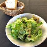 アンテヴォルテ - ランチのサラダ