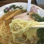 べんけい - 中太ストレート麺♪