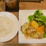 キッチン ラフト - 201612 「豚ロースソテー アボガドチーズ」(950円)