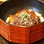 そば処 ちゅうすけ - 肉味噌丼☆