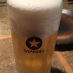 串焼き もんじろう 渋谷本店 - 生ビール