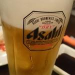 焼肉とくがわ苑 - 生ビール(480円)