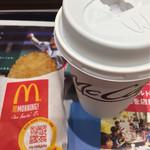 マクドナルド - ハッシュポテトとプレミアムローストコーヒーS